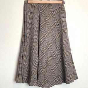 Vintage Patty Woodard 70s Icon Wool Skirt